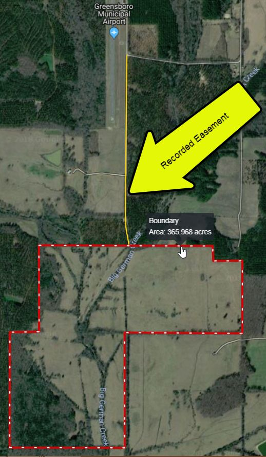 Broussard Ranch – 364 acres